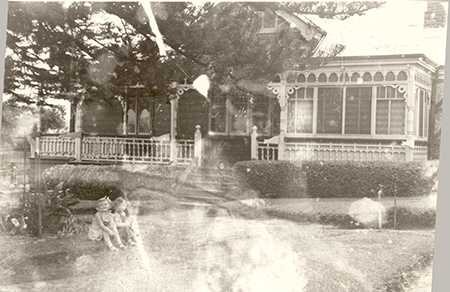 damaged photo c1951